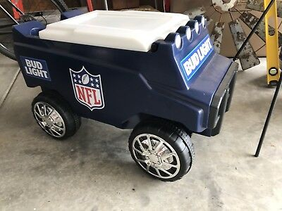C3 Rover rolling cooler- BudLight NFL