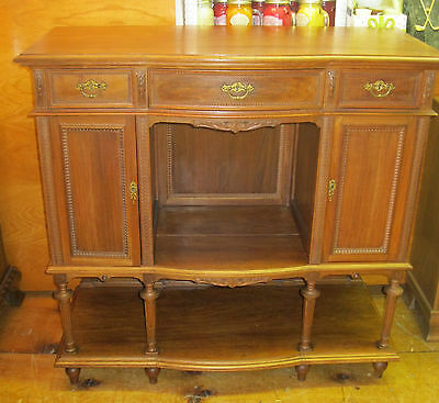 Walnut Sideboard  Server Foyer Cabinet  - #00511