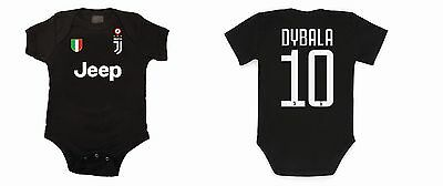 Body Neonato Baby Juventus Dybala 17-18 Bodysuit Infant Baby Newborn Name