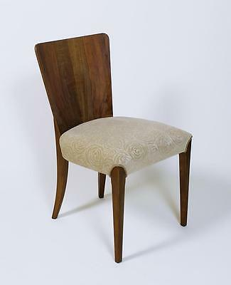 1 of 4 VINTAGE 1940' ART DECO  CHAIR  MODEL No . H 214 BY JINDRICH HALABALA
