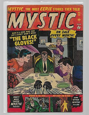 MYSTIC COMICS # 11 /The Black Gloves/ complete solid early one