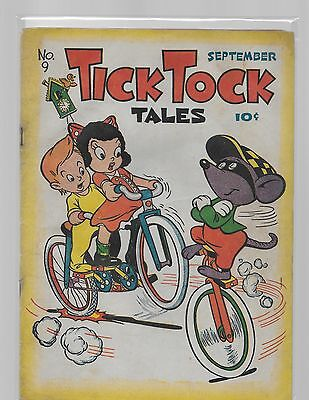 TICK TOCK TALES # 9 / complete solid early comic
