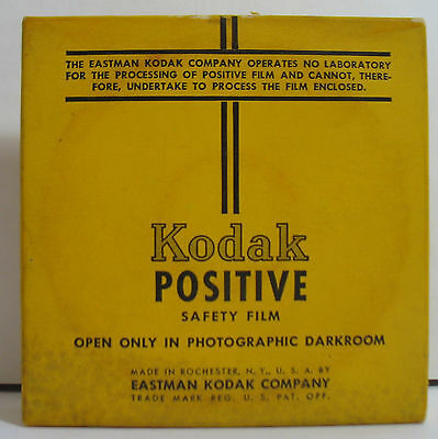 Kodak Positive 16mm Safety Movie Film 100 FT 8 Perf NIB