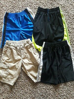 lot of 4 different brands shorts boys size 8-10