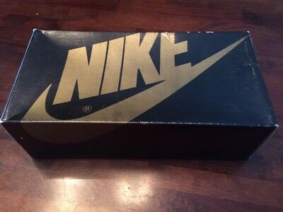 Vintage Nike Shoe Box ONLY 1980's  Model Cornerstone RB/W 55831 Size 9