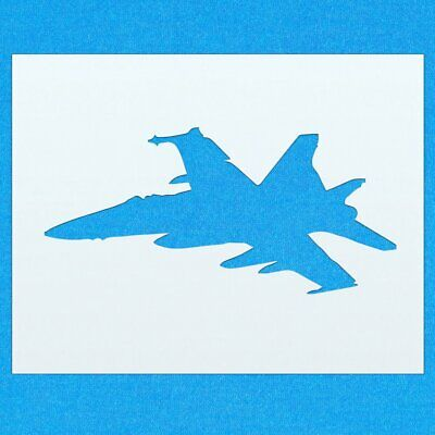 Plane Fighter Jet Aircraft Mylar Airbrush Painting Wall Art Crafts Stencil two