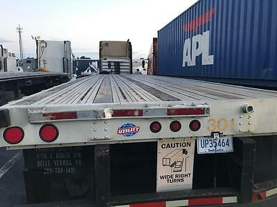 2006 Flatbed utility trailer combo, spread axel