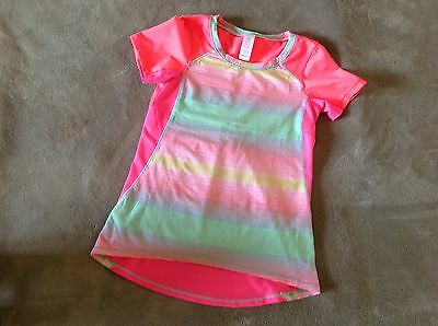 Ivivva shirt bright colors girls size 6 adorable