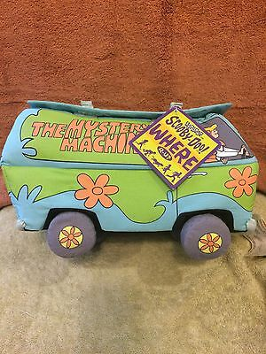 Vintage Scooby Doo Mystery Machine Lights Up & Honks