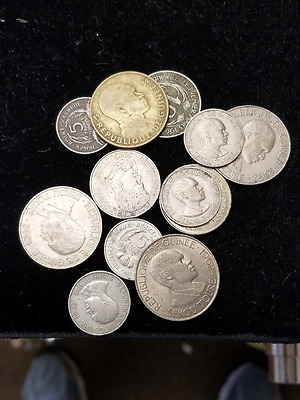 Republic of Guinee Collection 12 Coin Lot Guinea