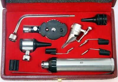 BDEALS Ophthalmoscope Otoscope ENT Diagnostic Set