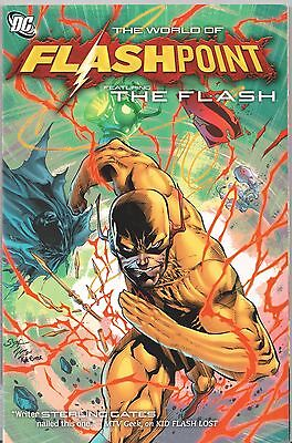 DC Comics The World of FLASHPOINT Featuring THE FLASH Graphic Novel