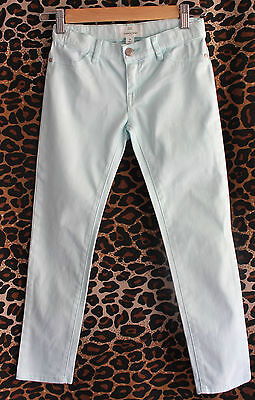 COUNTRY ROAD ~ Girls  Mint Green Stretch Cotton Skinny Jeans ~ 8
