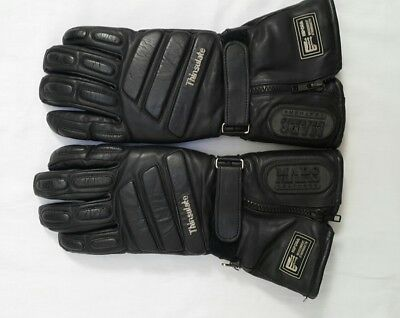 MARS Leather Motorcycle Gloves Thinsulate Hipor - Used - Size XL