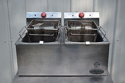 EAGLE GROUP EF102-240-X COUNTERTOP REDHOTS FRYER, ELECTRIC 15 Lb.