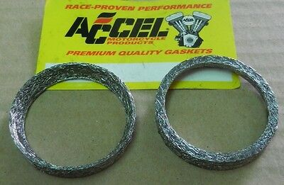 Exhaust Port Gasket Tapered Harley 1984 2014 Twin Cam, Softail, Sportster, Buell