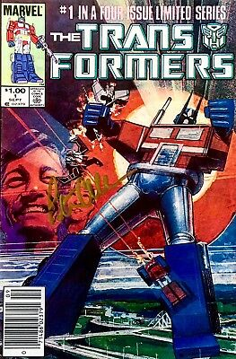 Marvel Transformers #1-80 Rare Jeweler Variants Vf/nm #1 Signed By Peter Cullen