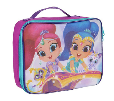 SHIMMER and SHINE Lunch Bag tote Insulated School Bag Magic Carpet Nahal Tala