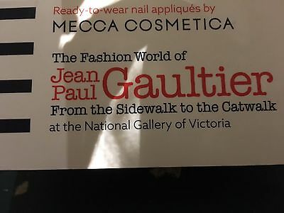 Ready to Wear Jean Paul Gaultier Nail Appliques From Sidewalk to Catwalk Mecca