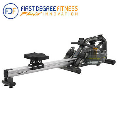 FDF Fluid Trident Pro AR Water Rower Exercise Rowing Workout Machine (AU SELLER)