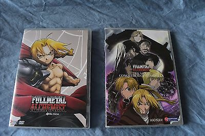 Fullmetal alchemist the movie conqueror of shamballa and the curse DVD
