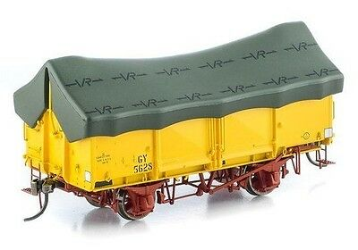 Auscision Gy Wagon Vr Hansa Yellow Green Tarp 6 Car Pack Vfw-33 Suit Powerline