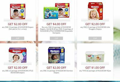 Huggies coupons expires 8-24 express delivery to your account