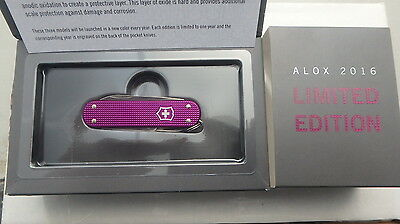 Victorinox Limited Edition 2016 New Crushed Box Small Folding Knife