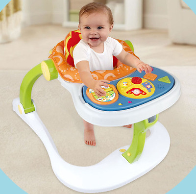 YAYAYA 4 in 1 Multi Functional Entertainer Baby Walker