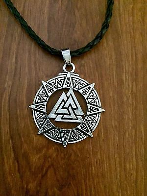 Celtic Viking Norse Unisex Pendant Necklace