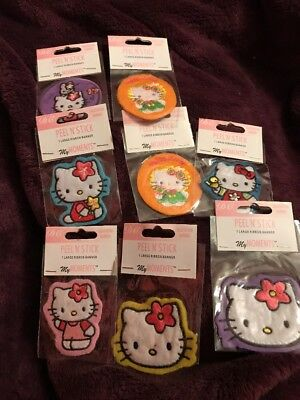 lot of 8  Hello Kitty embroidered iron on patches