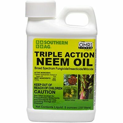 Southern Ag Fertilizers & Plant Food Triple Action Neem Oil, 16oz Pint