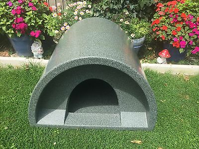 Pink omlet eglu classic chicken coop house rabbit guinea for Plastic duck house