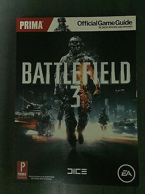 Prima Official Battlefield 3 Game Guide
