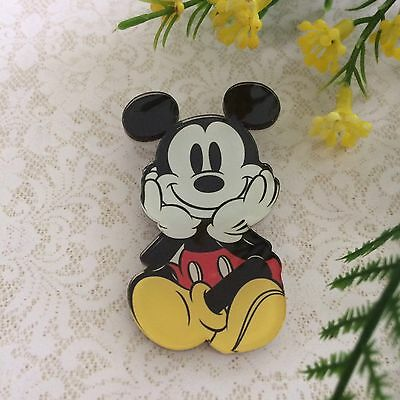 Mickey Mouse Brooch Pin/Lapel/ Coat /Backpack/Jewelry Retro Vintage Rockabilly