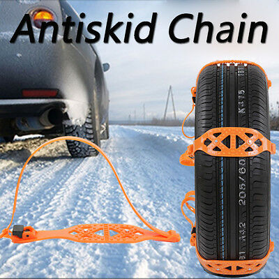 Anti-skid Chains For Universal Car/Truck Snow Mud Wheel Tyre Tire Tendon Ties