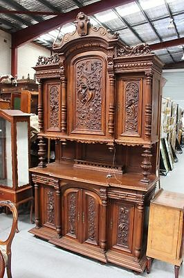 Antique French Renaissance Style Two Height Buffet (Moving Sale)