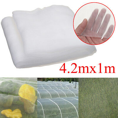 4.2x1m Garden Crop Plant Netting Protect Bug Insect barrier Bird Net Mesh 1.35mm