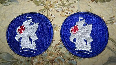 2 Vintage U.s. Military School Of The Americas Uniform Patch Patches