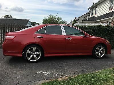 2009 Toyota Camry  2009 TOYOTA CAMRY SE V6 JBL, LEATHER, low miles NO ACCIDENTS low reserve