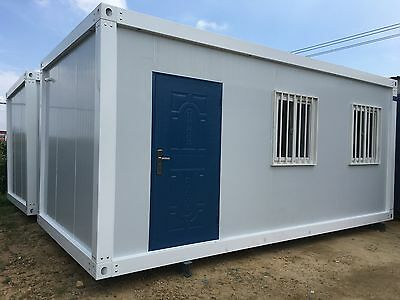 Container House Mobile Portable Size: 6000mm (L) x 3000mm (W) x 2700mm (H)