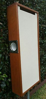 Unique letterbox with merbau wood frame. Stylish letter box.