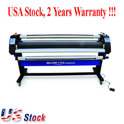 "US - 67"" Economical Full-auto Wide Format Single-Side Heat-Assist Cold Laminator"