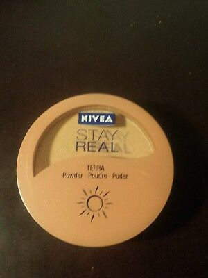 Stay real nivea terra puder sunset gold wie neu