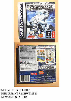 Rebelstar Tactical Command Game Boy Advance New Sealed! Nuovo Sigillato! Pal