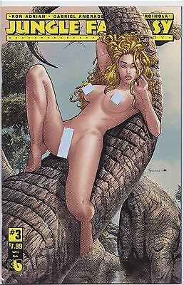 Jungle Fantasy Ivory #3 Sultry Nude Cover