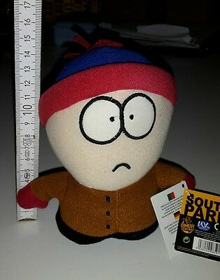 SOUTH PARK Plüsch Figur STAN 14 cm *NEU* Comedy Central