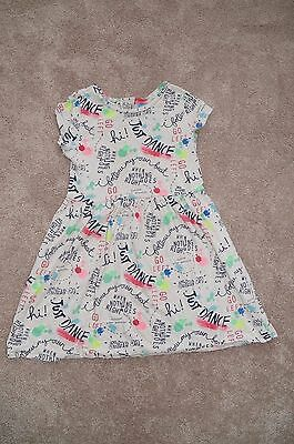 GUC Gap Kids XL 12 ED T Shirt Dress Short Sleeve Word Print BTS