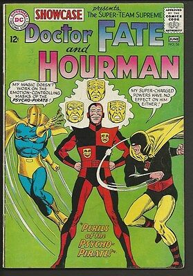1965 DC Showcase #56 Doctor Fate and Hourman Fine+
