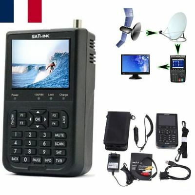 WS-6906 Digital Satellite Signal Finder DVB-S FTA Data Digital Satellite Signal